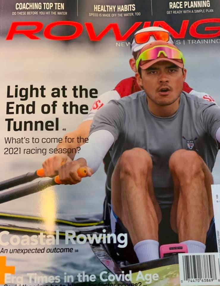 Rowing News, Feb. 2021 - Jasper Liu