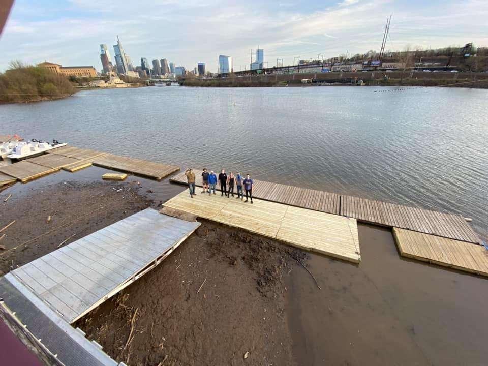 Vesper Dock Extension Build Crew